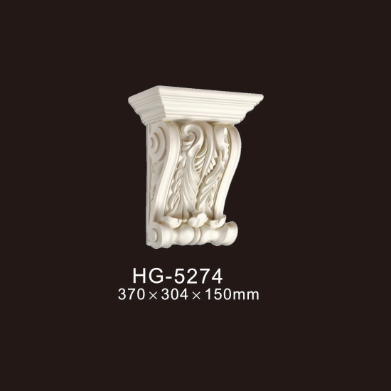 Newly Arrival Pu Polyurethane Cornice Mouldings - Exotic Corbels-HG-5274 – HUAGE DECORATIVE