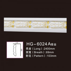 Effect Of Line Plate-HG-6024A outline in gold