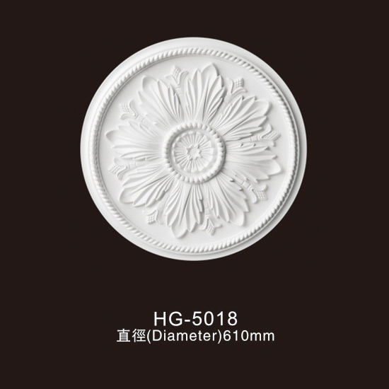 Factory source Interior Moulding - Ceiling Mouldings-HG-5018 – HUAGE DECORATIVE