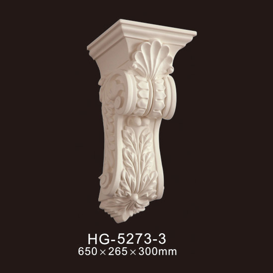 Factory Supply Interior Exterior Corbels - Exotic Corbels-HG-5273-3 – HUAGE DECORATIVE