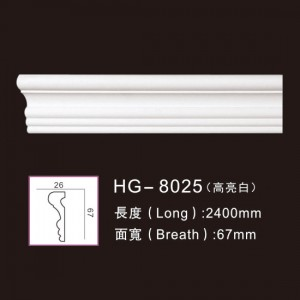 Factory source Corbels Outdoor - PU-HG-8025 highlight white – HUAGE DECORATIVE