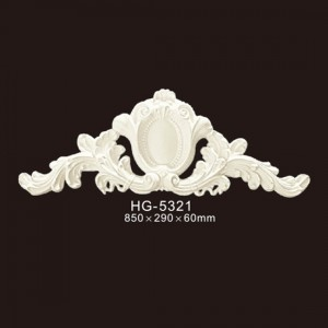 OEM China China Crown Moulding - Veneer Accesories-HG-5321 – HUAGE DECORATIVE