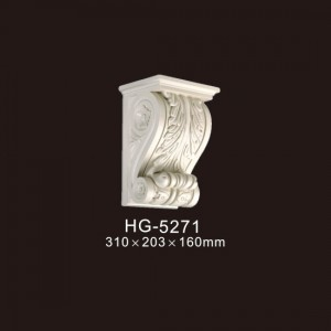Reasonable price for Polystyrene Decorative Corbels - Exotic Corbels-HG-5271 – HUAGE DECORATIVE