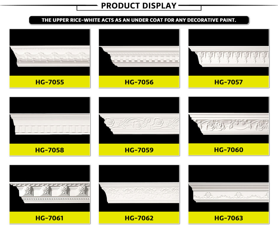 Carving Cornice Mouldings-HG7055