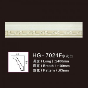 Effect Of Line Plate-HG-7024F water white