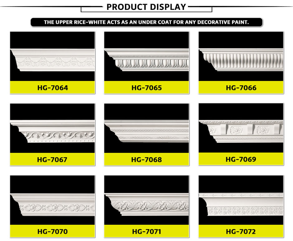 Carving Cornice Mouldings-HG7064