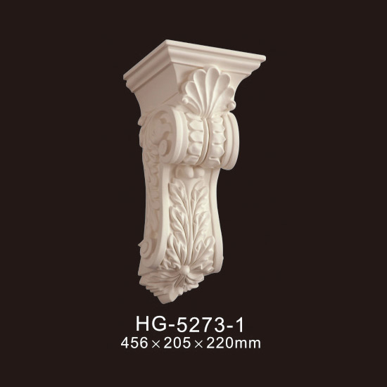 Lowest Price for White Pillar Moulding Column - Exotic Corbels-HG-5273-1 – HUAGE DECORATIVE
