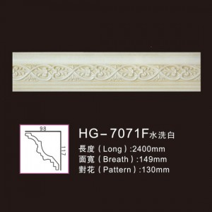 Effect Of Line Plate-HG-7071F water white