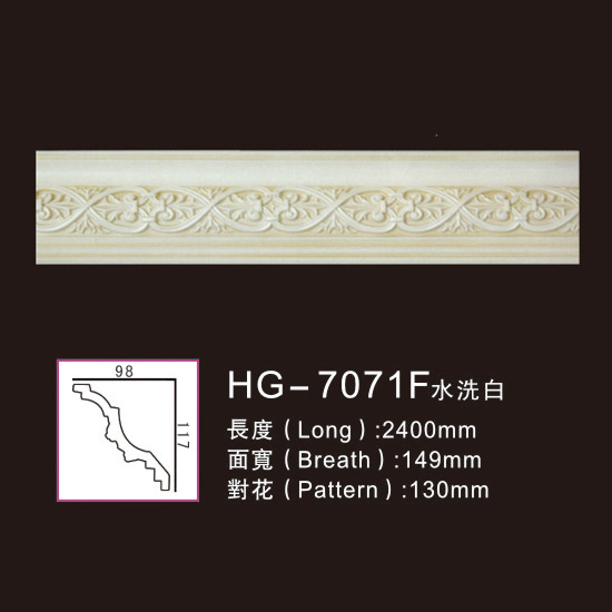 Effect Of Line Plate-HG-7071F water white Featured Image