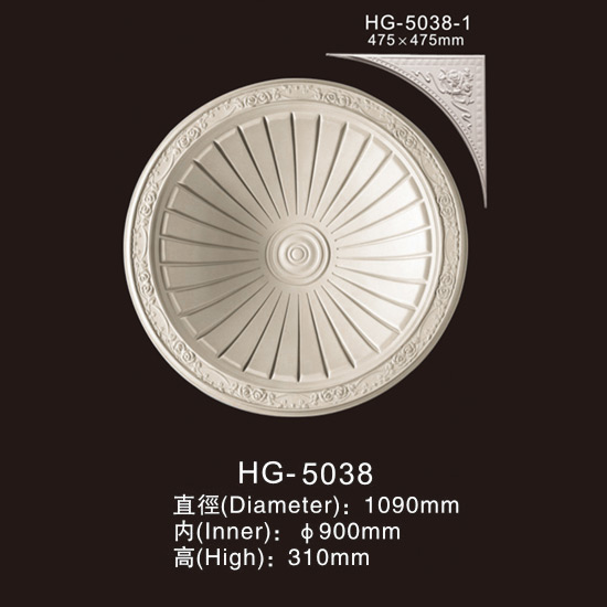 Well-designed Polystyrene Cornice Crown Moulding -