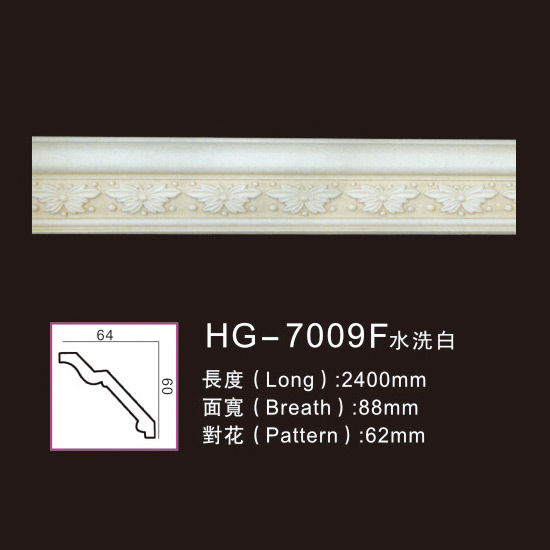 Manufacturer for Flexibel Moulding - Effect Of Line Plate-HG-7009F water white – HUAGE DECORATIVE