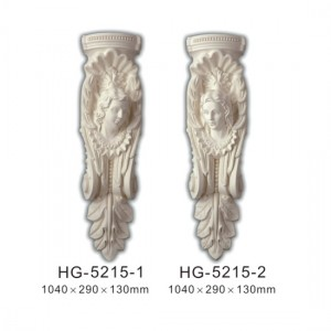 China Cheap price Hand Carved Corbels - Fireplace Corbels & Surface Mounted Nicbes-HG-5215 – HUAGE DECORATIVE