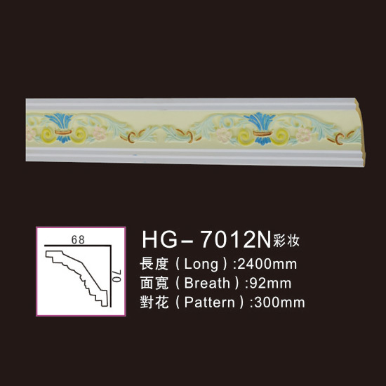 OEM Supply Pu Polyurethane Plain Panel Mouldings - Effect Of Line Plate1-HG-7012N Make-up – HUAGE DECORATIVE