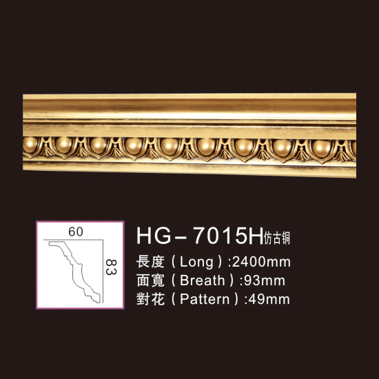OEM/ODM Supplier Cheap Memory Engraved Medallion - Effect Of Line Plate1-HG-7015H Antique Copper – HUAGE DECORATIVE Featured Image