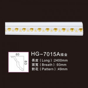 Effect Of Line Plate-HG-7015A outline in gold