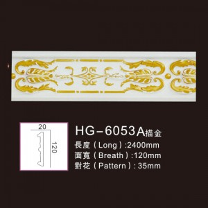 Effect Of Line Plate-HG-6053A outline in gold
