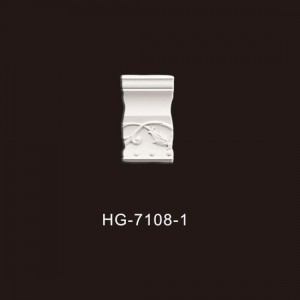 Low price for Hot Cornice Crown Moulding - PU-HG-7108-1 – HUAGE DECORATIVE