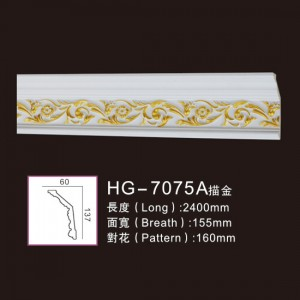 Effect Of Line Plate-HG-7075A outline in gold
