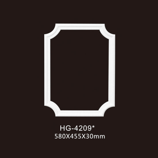 High reputation Pu Cornice Crown Moulding Material -