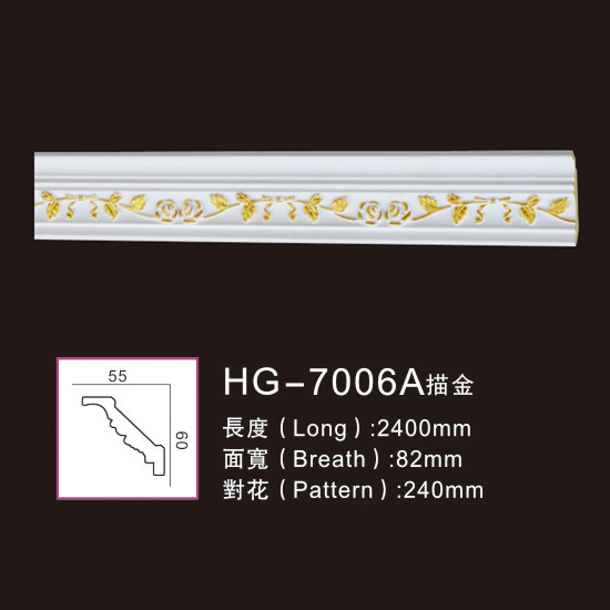 2019 Good Quality Mdf Moulding -
