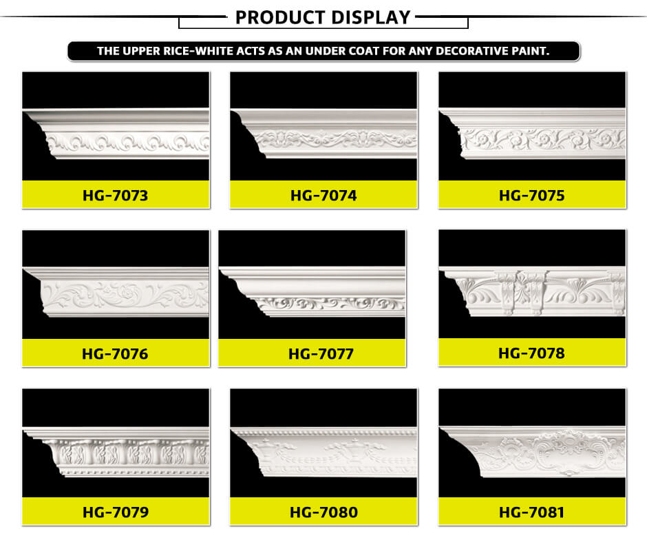 Carving Cornice Mouldings-HG7073