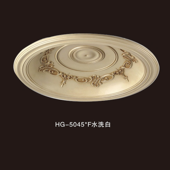 High Performance Gypsum Ceiling Crown Moulding - Ceiling Mouldings-HG-5045F water white – HUAGE DECORATIVE