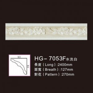 Effect Of Line Plate-HG-7053F water white