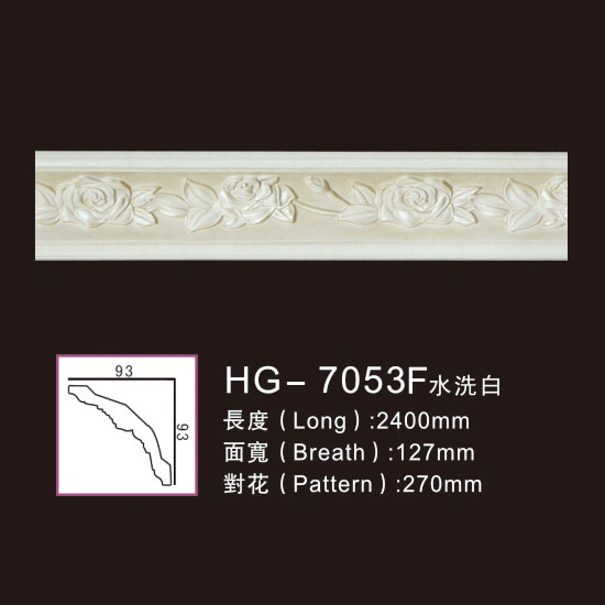 Effect Of Line Plate-HG-7053F water white Featured Image