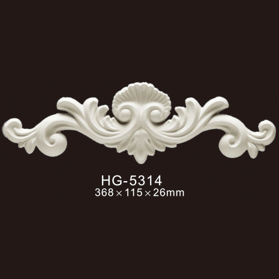 Factory wholesale Window Trim - Veneer Accesories-HG-5314 – HUAGE DECORATIVE