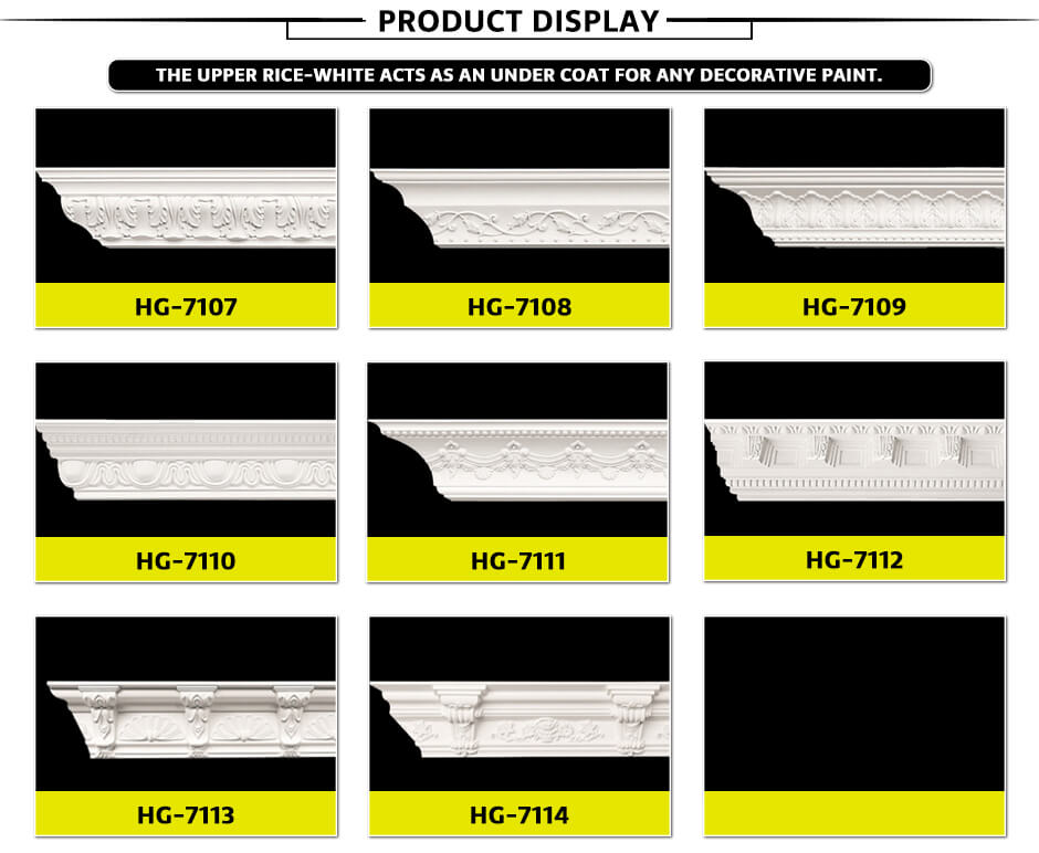 Carving Cornice Mouldings-HG7107