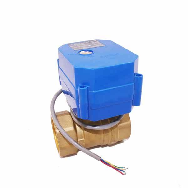 2017 China New Design Electric Motorized Valve -