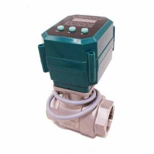 Popular Design for Drinking Water Electric Valve -