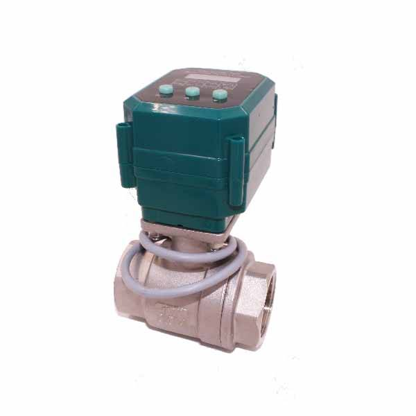 Reasonable price Motorized Mini Electric Ball Valve -