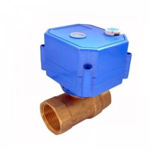 CWX-25S Mini Electric Valve With Manual Function