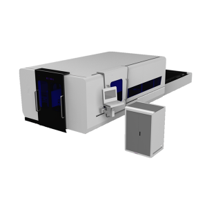 Fiber Laser Cutting Machine with Auto Exchange Table