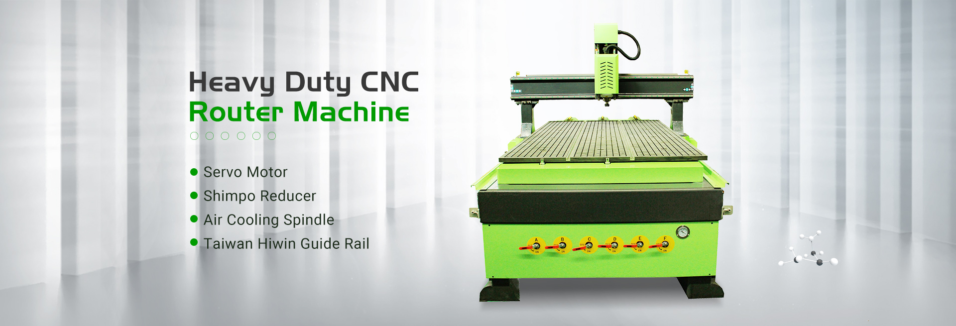 CNC Router Muchina