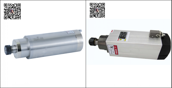 The difference between water cooled spindle and air cooled spindle