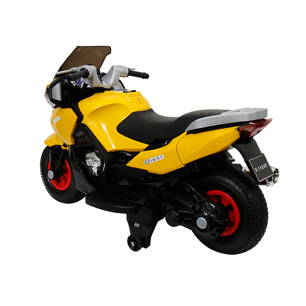 factory low price 12v Baby Motorcycle - China wholesale R3 Electric Motorcycle With Disc Brakes – Haizhibao Featured Image