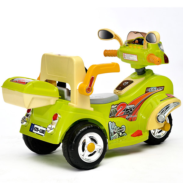 OEM/ODM Factory Battery Power Motorcycle For Kids - Popular Design for  New Children's Electric Car Four-wheel Dual-drive Swing Car Baby Toy Car – Haizhibao