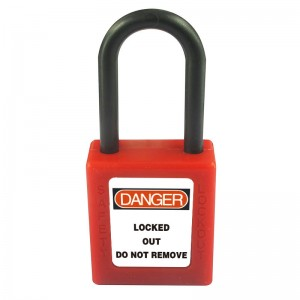 Nylon Plastic Safety Padlock BD-8531