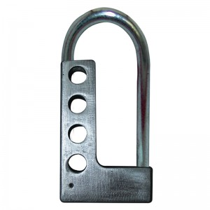 Heavy Steel Hasp Lockout with 4 holes BD-8315