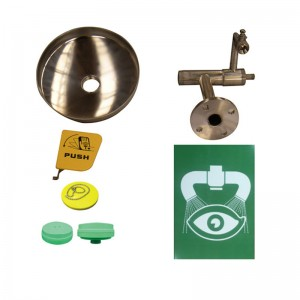 Cheapest Factory Elecpopular Products Safety Equipment Wall Mounted Emergency Eye Wash Station