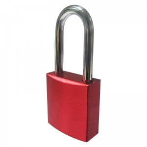 100% Original Fs6124 Auto-popup Corrosion Safety Laminated Aluminum Padlock With Master Key