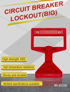 Abs Circuit Breaker Lockout Device BD-8122A