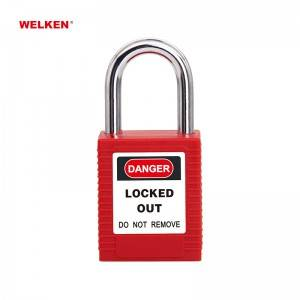 Safety Padlock BD-8511/21/25AS