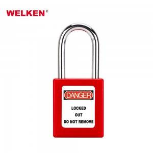 Supply OEM/ODM Safety Hasp and Staple Zinc plated Shed Latch Lock For Padlocks