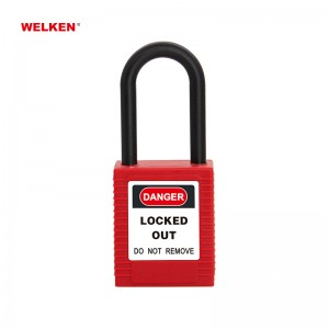 Insulation Plastic Padlock BD-8531AS~35AS
