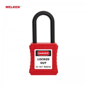 Insulation Plastic Padlock BD-8531BS~35BS