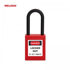 Insulation Plastic Padlock BD-8531CS~35CS