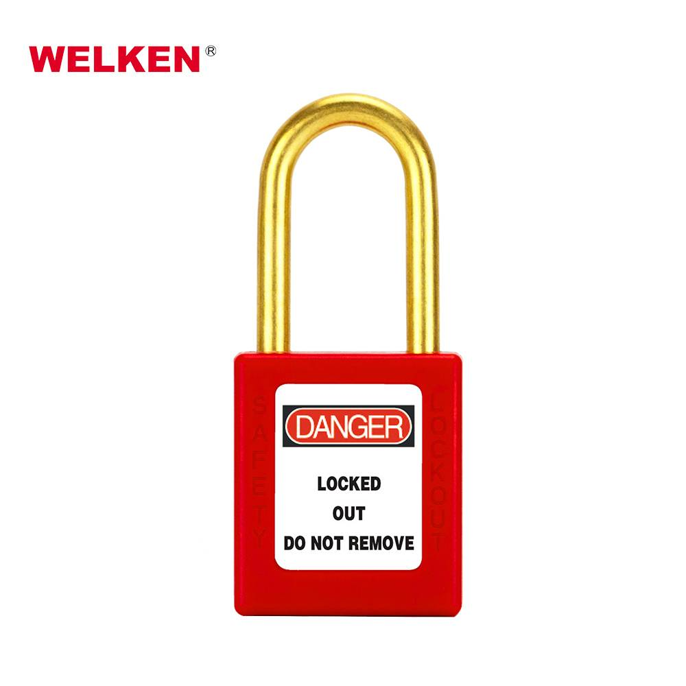 Brass Shackle Safety Padlock BD-8551 Featured Image
